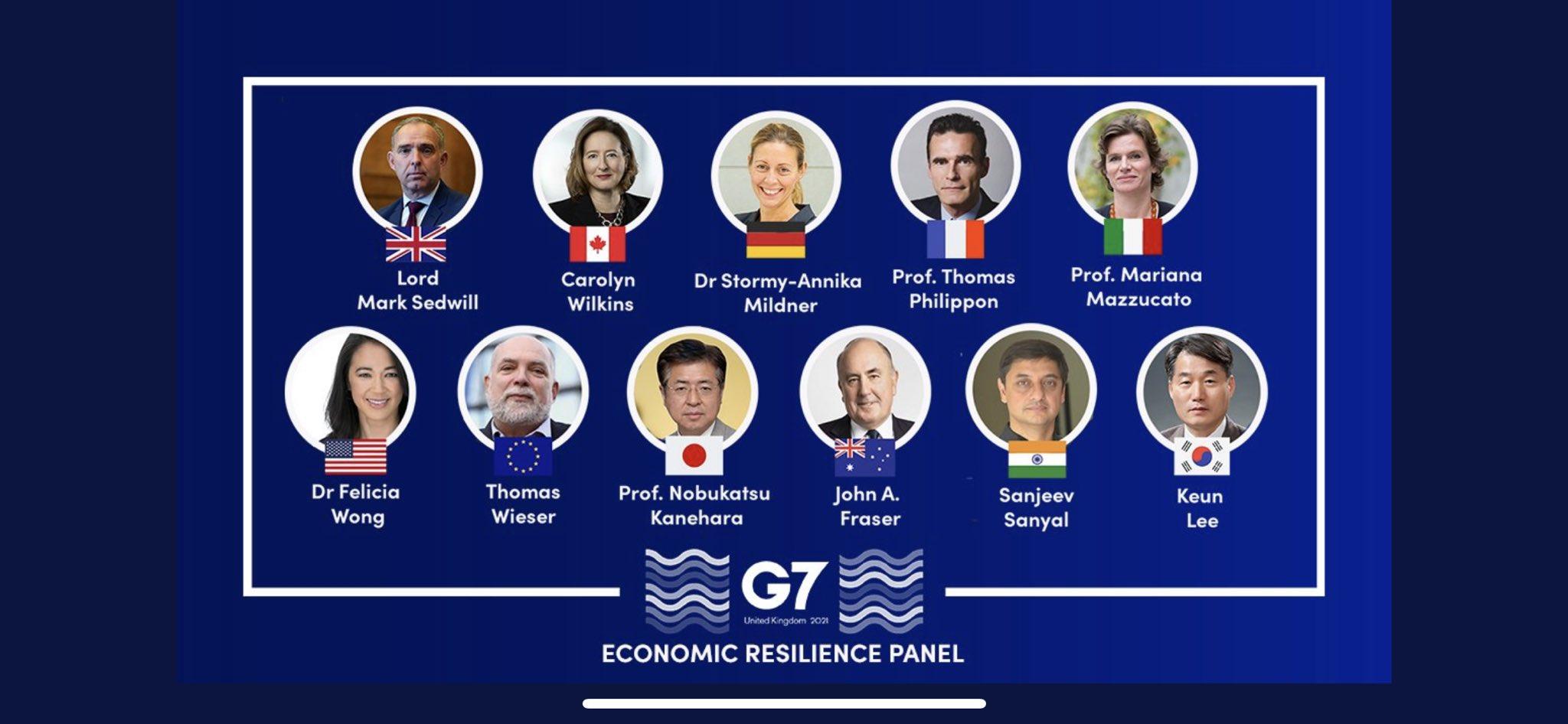 G7 Economic Resilience Panel 2021