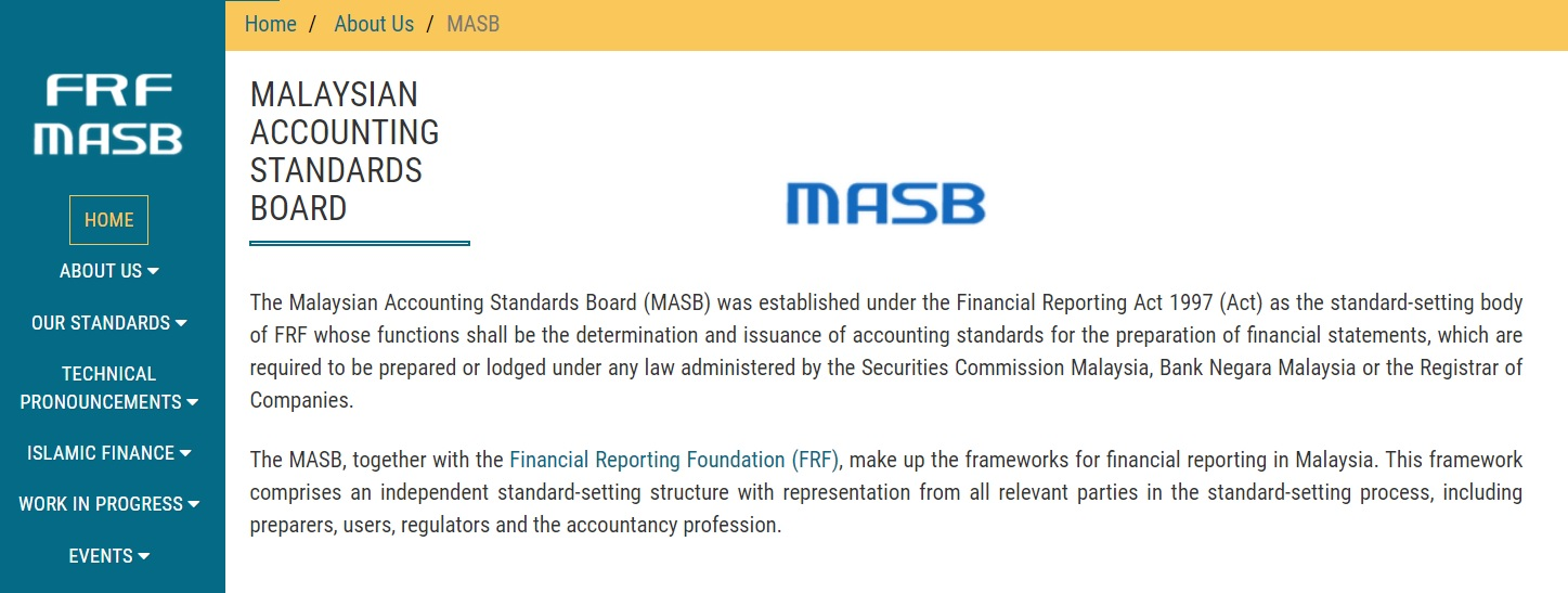 Malaysian Accounting Standards Board